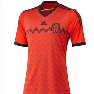 Adidas 2014 Mexico Away Soccer Jersey